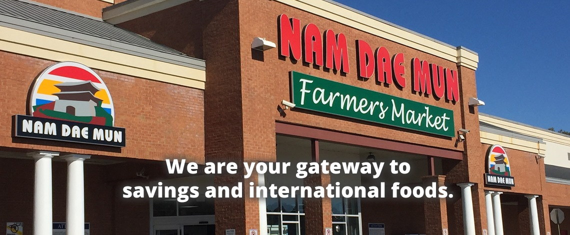 Nam Dae Mun is the gateway to savings and international foods