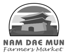 A logo of Nam Dae Mun Farmers Market