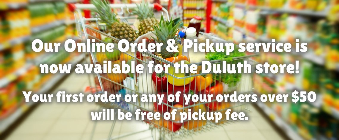 Online order and pickup